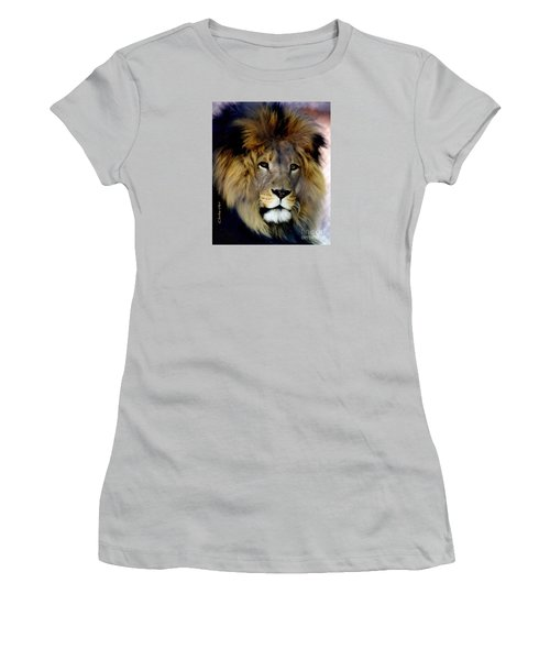 His Majesty The King Women's T-Shirt (Athletic Fit)