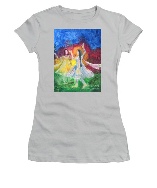 Holi-festival Of Colors Women's T-Shirt (Athletic Fit)