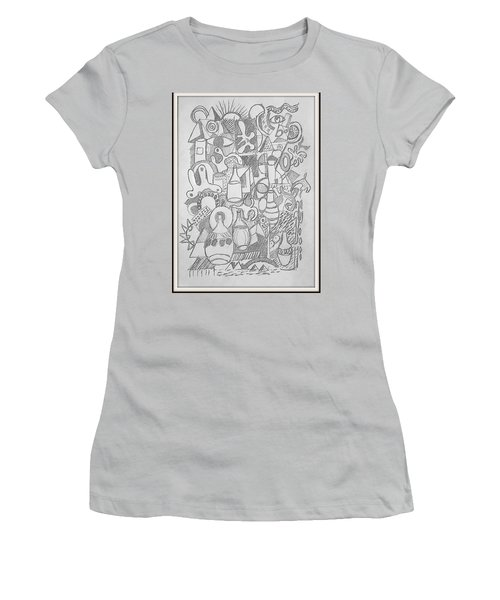 Holiday Thoughts Women's T-Shirt (Junior Cut) by Rosemary Colyer