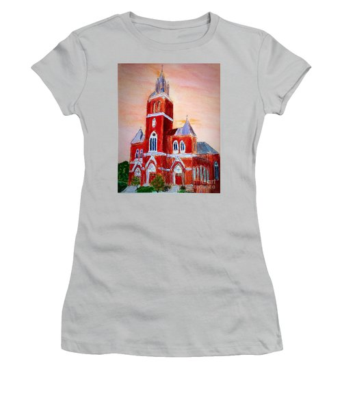 Holy Family Church Women's T-Shirt (Athletic Fit)