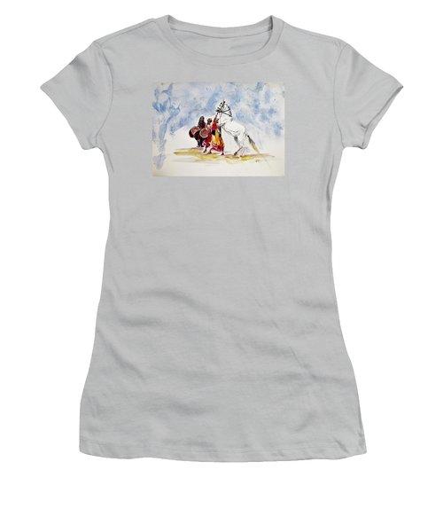 Horse Dance Women's T-Shirt (Athletic Fit)