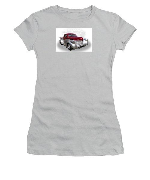 Hotrod Utility Women's T-Shirt (Athletic Fit)