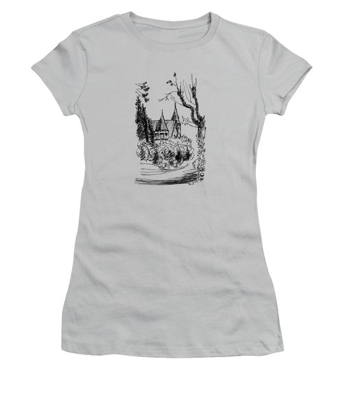 House In San Francisco Women's T-Shirt (Athletic Fit)
