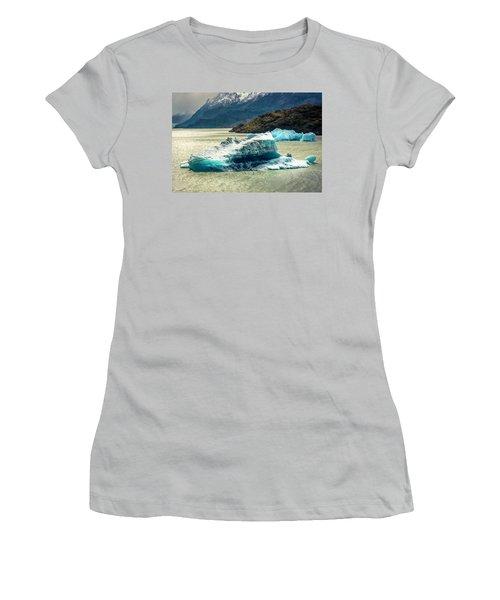 Iceberg Women's T-Shirt (Junior Cut) by Andrew Matwijec