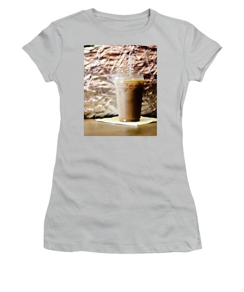 Iced Coffee 2 Women's T-Shirt (Athletic Fit)