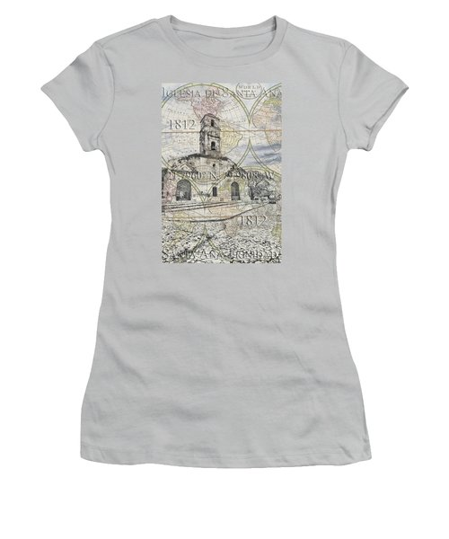 Iglesia De Santa Ana Passport Women's T-Shirt (Athletic Fit)