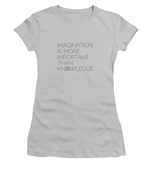Imagination Women's T-Shirt (Junior Cut) by Melanie Viola