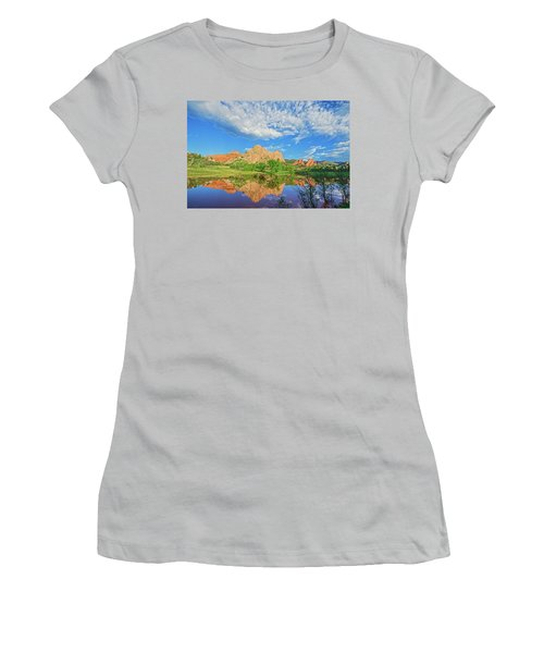 Impossible Not To Fall In Love With Colorado. Here's Why.  Women's T-Shirt (Junior Cut) by Bijan Pirnia