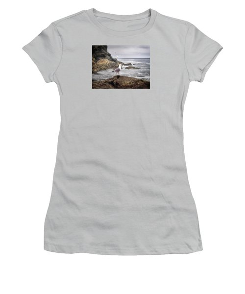In A Mood Women's T-Shirt (Athletic Fit)