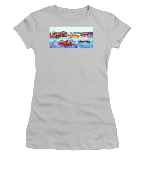 Inchon Harbor Women's T-Shirt (Athletic Fit)
