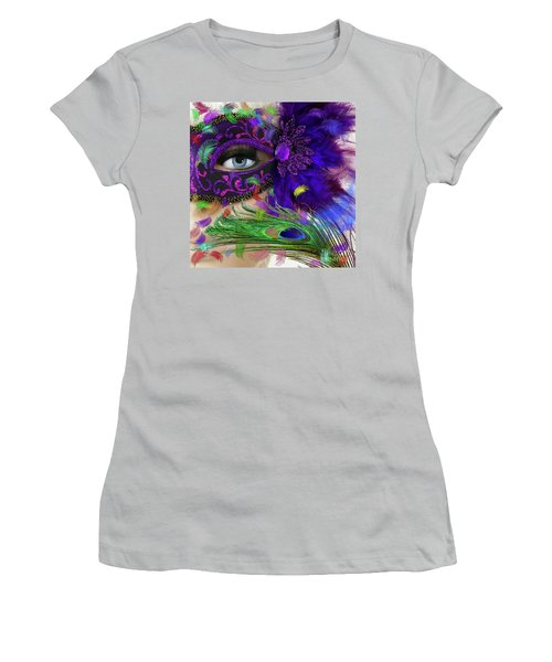 Women's T-Shirt (Athletic Fit) featuring the photograph Incognito by LemonArt Photography