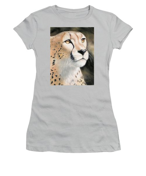 Intensity - Cheetah Women's T-Shirt (Athletic Fit)