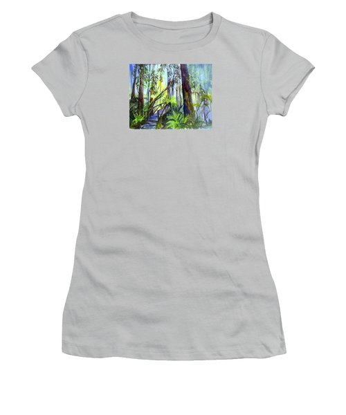 Into The Mist Women's T-Shirt (Athletic Fit)