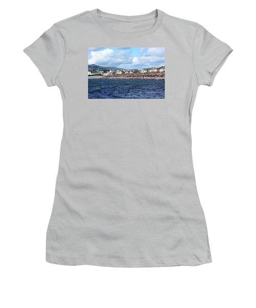 Irish Seaside Village - Co Kerry  Women's T-Shirt (Junior Cut)