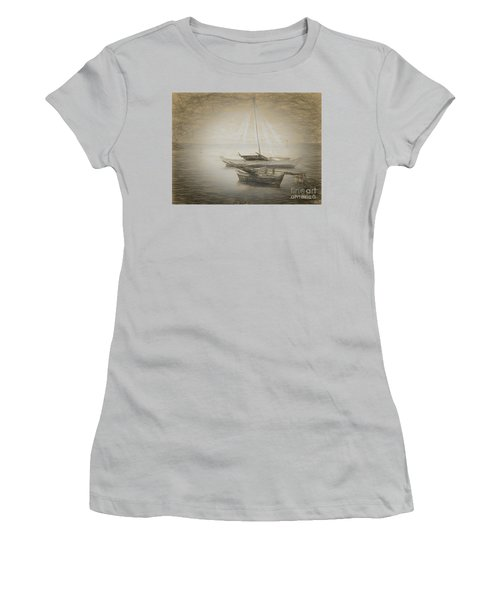 Island Sketches V Women's T-Shirt (Athletic Fit)