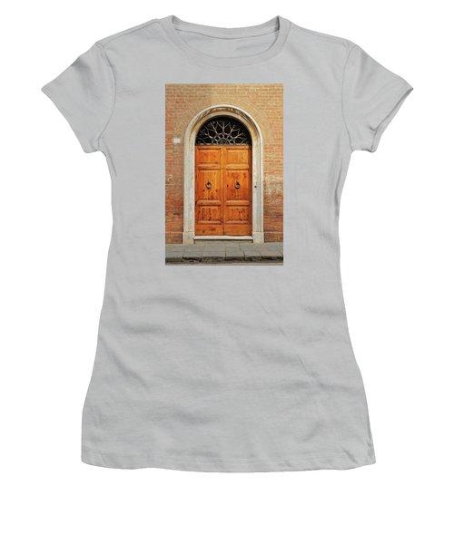 Italy - Door Fifteen Women's T-Shirt (Athletic Fit)