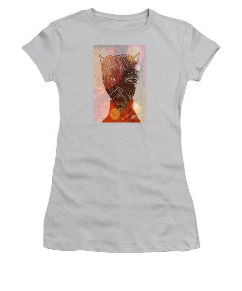 Joe Women's T-Shirt (Junior Cut) by Ann Calvo
