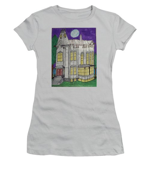 John Henes Home. Women's T-Shirt (Junior Cut) by Jonathon Hansen