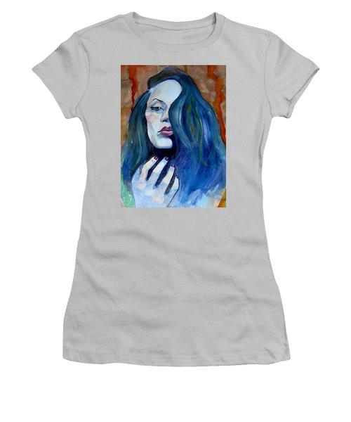 Kasia Ikasia Women's T-Shirt (Junior Cut) by Ray Agius
