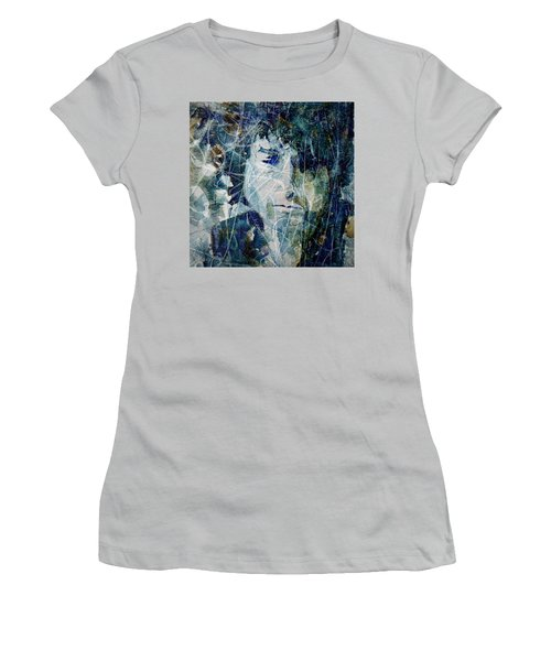 Knocking On Heaven's Door Women's T-Shirt (Junior Cut) by Paul Lovering