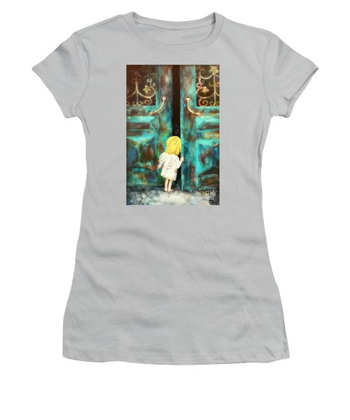 Knocking On Heaven's Door Women's T-Shirt (Athletic Fit)