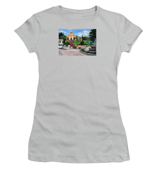 La Plaza De Moca Women's T-Shirt (Athletic Fit)