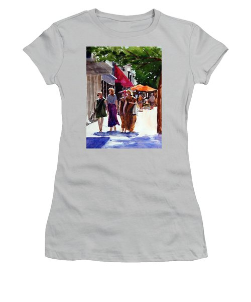 Ladies That Shop Women's T-Shirt (Junior Cut) by Ron Stephens