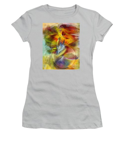 Lady And Her Shells Women's T-Shirt (Athletic Fit)