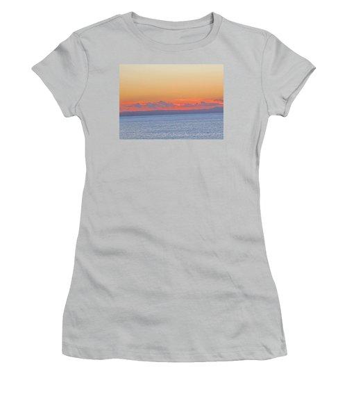 Laguna Orange Sky Women's T-Shirt (Junior Cut) by Dan Twyman