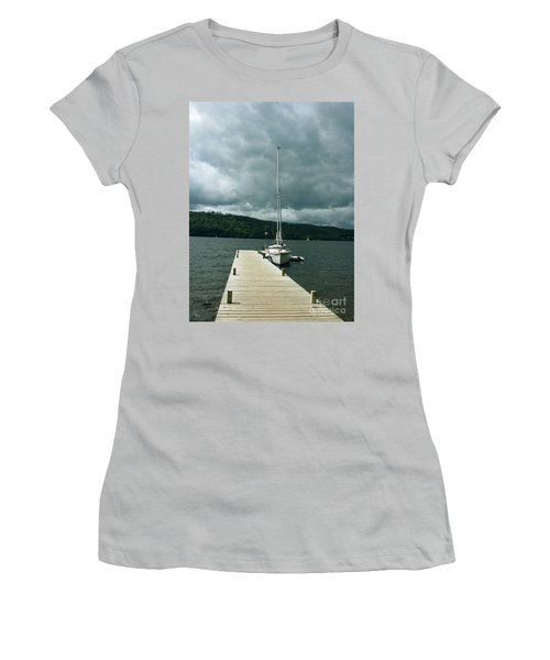 Lake Windermere Women's T-Shirt (Athletic Fit)