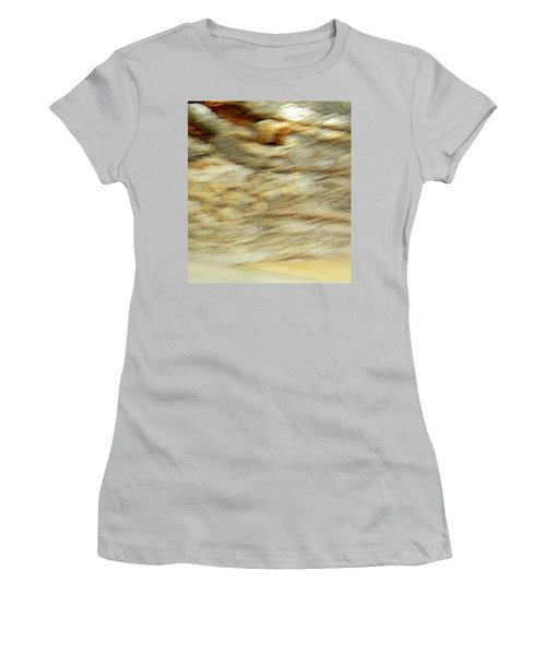 Women's T-Shirt (Junior Cut) featuring the photograph Land And Sky by Lenore Senior