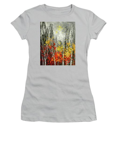 Last Dance Women's T-Shirt (Junior Cut) by Tatiana Iliina