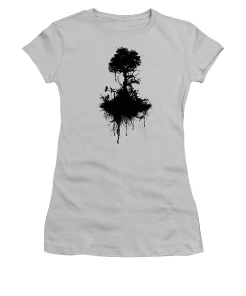 Last Tree Standing Women's T-Shirt (Junior Cut) by Nicklas Gustafsson