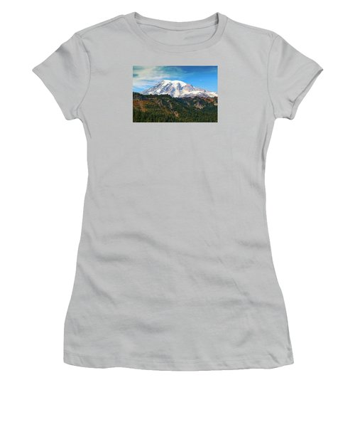 Women's T-Shirt (Junior Cut) featuring the photograph Late Afternoon by Lynn Hopwood