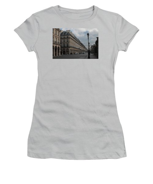 Women's T-Shirt (Junior Cut) featuring the photograph Le Meurice Hotel, Paris by Christopher Kirby