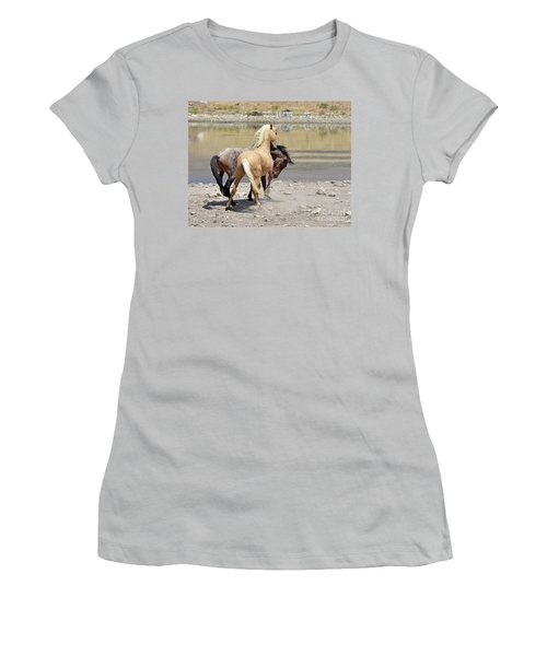 Learning To Fight Women's T-Shirt (Junior Cut) by Lula Adams