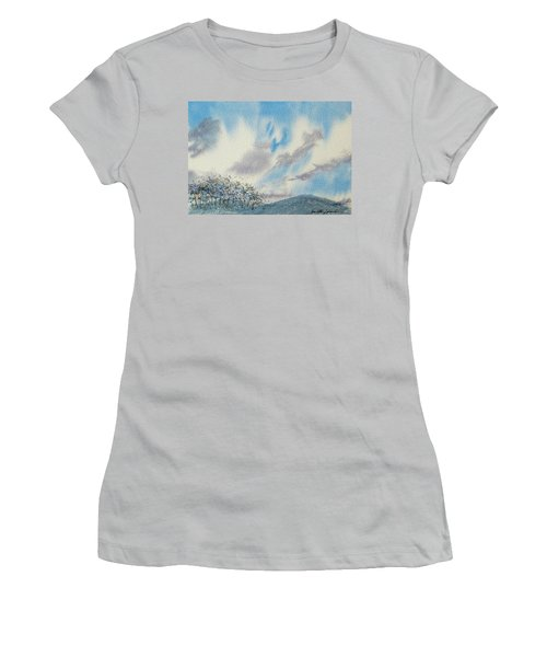 The Blue Hills Of Summer Women's T-Shirt (Athletic Fit)