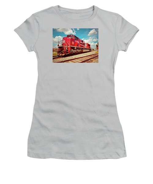Let's Ride The Katy Women's T-Shirt (Junior Cut) by Linda Unger