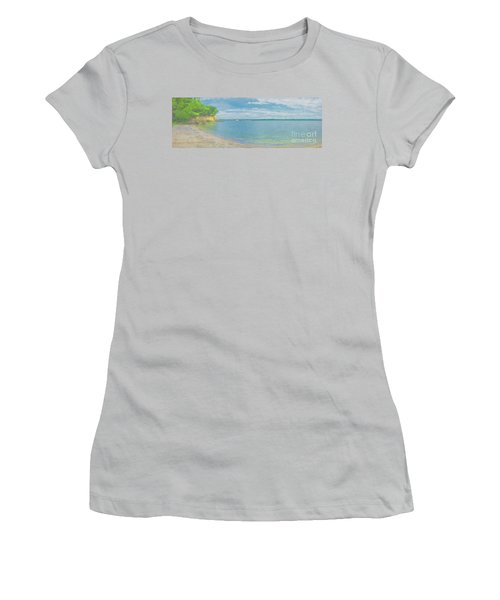 Lewis And Clark Lake Women's T-Shirt (Athletic Fit)