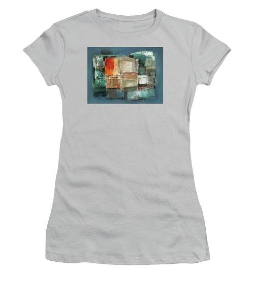 Patterns Women's T-Shirt (Junior Cut) by Behzad Sohrabi