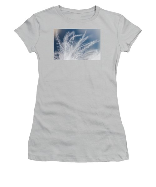 Light As A Feather Women's T-Shirt (Junior Cut) by Yvette Van Teeffelen
