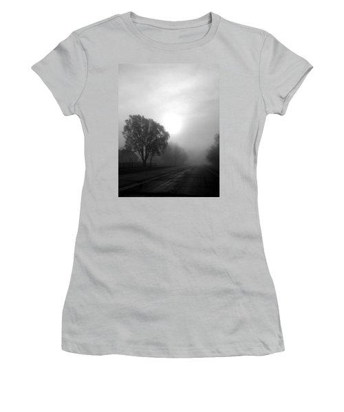 Light Through A Fog Women's T-Shirt (Athletic Fit)