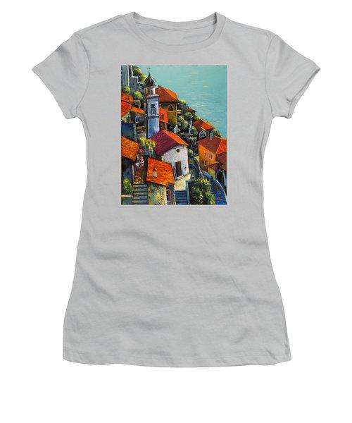 Limone Del Garda Women's T-Shirt (Junior Cut) by Mikhail Zarovny