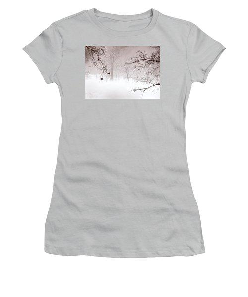 Listening Women's T-Shirt (Junior Cut) by Trilby Cole