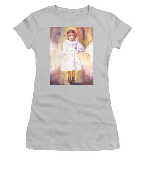 Little Anna Women's T-Shirt (Junior Cut) by Tara Moorman