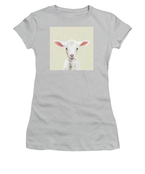 Little Lamb Women's T-Shirt (Athletic Fit)