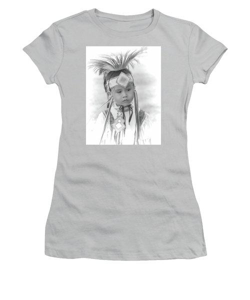Little Native American Dancer Women's T-Shirt (Athletic Fit)