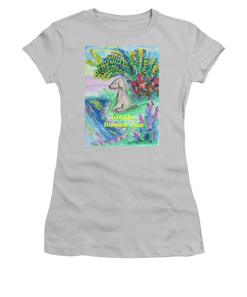 Little Sweet Pea With Title Women's T-Shirt (Athletic Fit)