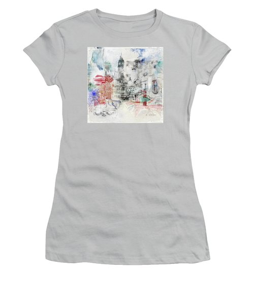 London Study Women's T-Shirt (Junior Cut) by Nicky Jameson