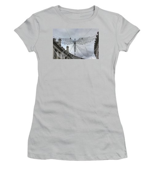 London's Angel Women's T-Shirt (Athletic Fit)